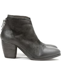 Settima Heel Ankle Boots - Lyst