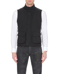 Ralph Lauren Black Label Shell Waistcoat - For Men - Lyst