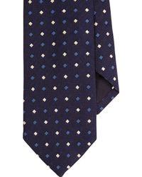 J.Crew | Drake's Silk Tie In Geometric Print | Lyst