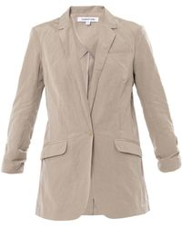 Elizabeth And James Jamie Cotton-Blend Blazer - Lyst