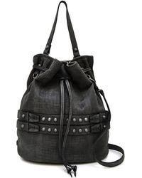 She + Lo - Aim High Studded Drawstring Bag - Lyst