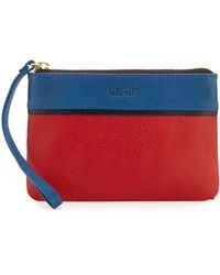 Hare + Hart | Pocket Leather Wristlet Pouch | Lyst