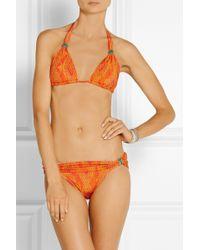 Vix Menfis Printed Bikini Briefs - Lyst
