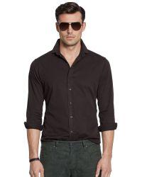Ralph Lauren Black Label Garmentdyed Sport Shirt - Lyst
