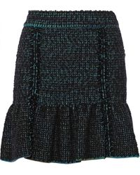 M Missoni Wool-blend Bouclã Skirt - Lyst