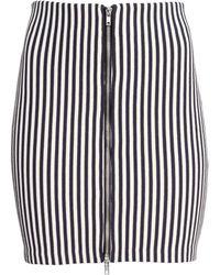 H&M Ribbed Skirt - Lyst