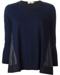 Moncler Two-Toned Jumper - Lyst