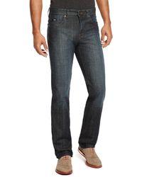 Hugo Boss Kansas Regular Fit Cotton Jeans - Lyst