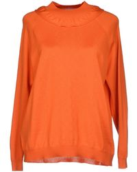 Miu Miu Orange Jumper - Lyst