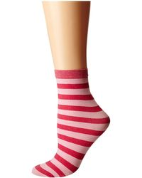 Wolford Red Amelie Socks - Lyst