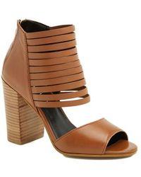 Trouvé 'Verona' Bootie Sandal - Lyst
