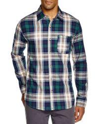 Sovereign Code   Prescott Plaid Regular Fit Button Down Shirt   Lyst