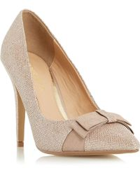Dune   Bailie Pointed Bow Trim Courts   Lyst