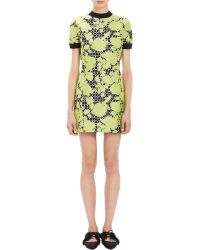 Balenciaga Jacquard Fit-And Flare Dress - Lyst
