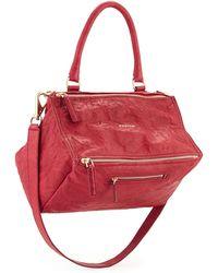 Givenchy Pandora Medium Old Pepe Satchel Bag - Lyst