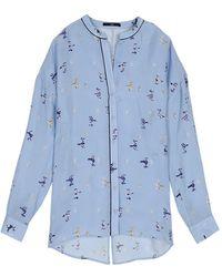 Tibi - Rio Pyjama Blouse - Lyst