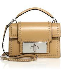 Marc Jacobs | Mischief Studded Leather Satchel | Lyst