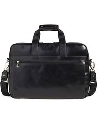 Bosca - 'stringer' Leather Briefcase - Lyst