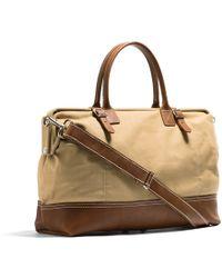 Kaufmann Mercantile Canvas & Leather Weekender Bag - Lyst