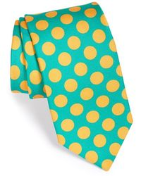 Ted Baker 'Dime Dot' Silk Tie green - Lyst