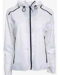 Theory Zip-Front Jacket: White - Lyst