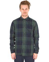 Alex Mill | Brushed Twill Plaid Shirt In Green/black | Lyst