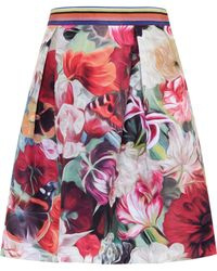 Ted Baker | Kaideen Floral Swirl Skirt | Lyst