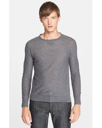 Band of Outsiders Extra Trim Fit Cashmere Sweater - Lyst