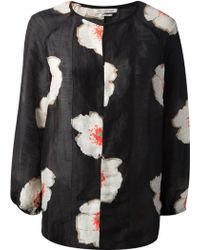 Etoile Isabel Marant Floral Print Blouse - Lyst