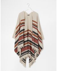 Warehouse - Western Stripe Cape - Lyst