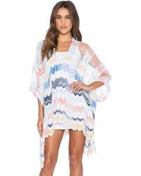 Goddis Rory Caftan Dress multicolor - Lyst