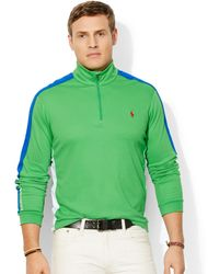Ralph Lauren Polo Big and Tall Color-blocked Pima Pullover - Lyst