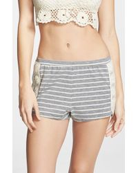 C&C California - Striped Lounge Shorts - Lyst