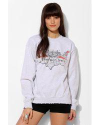 Junk Food - Americana Washed Budweiser Pullover Sweatshirt - Lyst