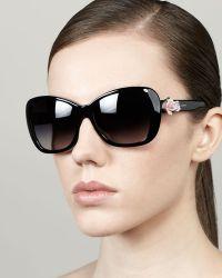D&G Dolce Gabbana Rosetemple Sunglasses - Lyst
