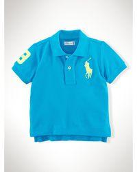 Ralph Lauren Big Pony Cotton Polo Shirt - Lyst