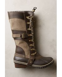 Sorel Conquest Carly Boots - Lyst