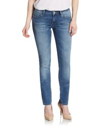 Mavi Jeans - Alexa Mid-rise Skinny Jeans - Lyst