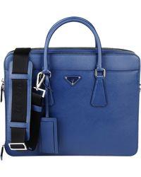 Prada Work Bags - Lyst