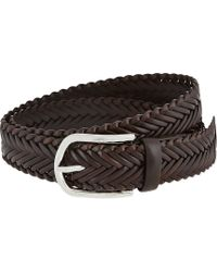 Tod's Woven Leather Belt - Lyst