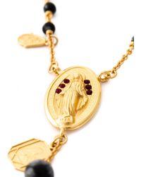 Dolce & Gabbana Prayer Bead Necklace - Lyst