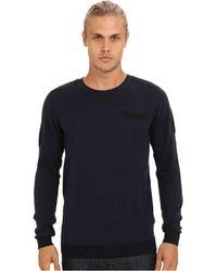 Diesel Blue Kane Sweater - Lyst