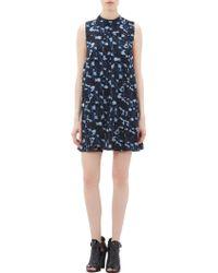 Proenza Schouler Abstract Cloud Print Sleeveless Dress - Lyst