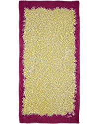 Diane von Furstenberg Hanovar Sunlight Scarf - Sunlight Lemon Gold - Lyst