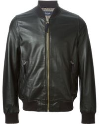 Paul Smith Classic Bomber Jacket - Lyst