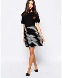 Oasis Stripe 2 For Skater Dress - Lyst