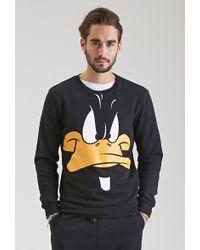 Forever 21 - Daffy Duck Sweatshirt - Lyst
