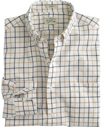 J.Crew Slim Secret Wash Shirt In Country Tattersall - Lyst