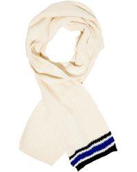 Marni Striped Wool-blend Scarf - Lyst