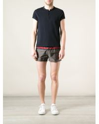 Gucci Printed Swim Shorts - Lyst